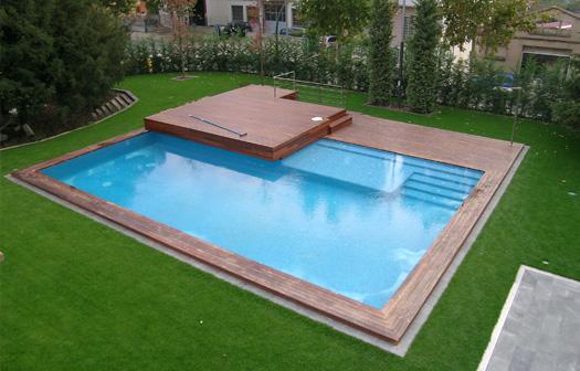 Piscines a manresa i bages tractament d 39 aigues Diseno de piscinas en espacios reducidos